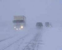 В Павлодарской области из-за непогоды закрыто движение по дороге Калкаман - Баянаул