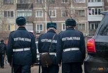 В Павлодаре проходят учения Нацгвардии
