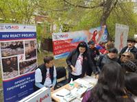 В Павлодаре провели День памяти умерших от СПИДа