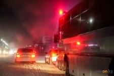 В Экибастузе полицейские поймали за рулем автобуса мужчину, лишенного прав