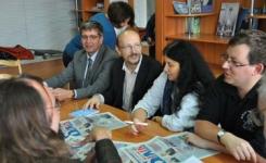 Ученые Венгрии читают лекции в Павлодарском университете