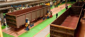 В планах у Казахстанской вагоностроительной компании выйти на плановый режим работы через месяц