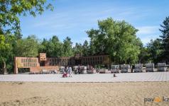 Ремонт в парке Победы обещают закончить в июне