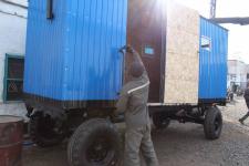 В павлодарской колонии осужденные производят вагончики