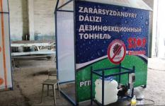 Дезинфекционные тоннели изготавливают павлодарские осужденные для госучреждений