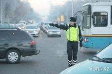 Как казахстанские полицейские работают без жезла (фото, видео)