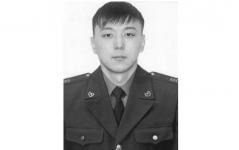 Погибшего на службе пожарного из Аксу наградили посмертно