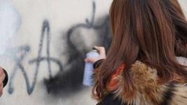Наркограффити стали закрашивать в Павлодаре