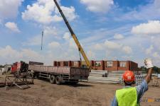 Пятиэтажные жилые дома возводят в Аксу