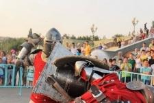 Международная битва рыцарей прошла в День города