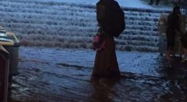 Последствия ливневых дождей в Алматы