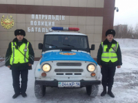 Павлодарец поблагодарил полицейских за то, что они нашли его сына