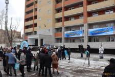 Первые будущие жильцы очередной новостройки в Сарыарке получили ключи от квартир