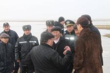 Паводковая ситуация на особом контроле у руководства Павлодарской области
