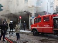 Мощный взрыв произошел в Афинах
