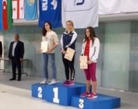 Три золотые медали завоевали павлодарцы на чемпионате Азербайджана по плаванию