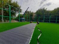 Искусственные газоны заменят на трех футбольных площадках Павлодара