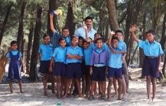 Индийские школьники зарезали учителя на глазах у всего класса