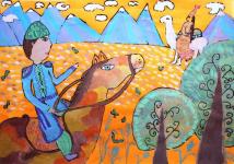 Павлодарские школьники стали победителями конкурса художественных талантов в Словении