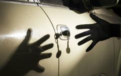 Угнанный четыре года назад автомобиль нашли павлодарские полицейские
