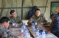 Булат Бакауов принял участие в командно-штабных учениях«ДАБЫЛ-2018»