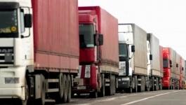 Вводится ограничение на движение грузовиков по РК