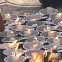 387 свечей зажгли павлодарцы в память об умерших от СПИДа