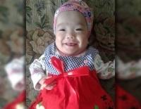 Мама попавших под трамвай школьниц помогла в лечении девочке, родившейся с весом 500 граммов
