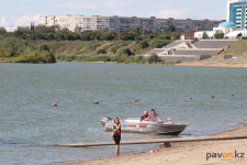 Спасателей удивляет реакция павлодарцев на применяемые меры безопасности на воде