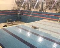 В Аксу продлили сроки ремонта 25-метрового бассейна