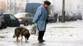 Гололед в Павлодаре стал причиной травм у сотни человек