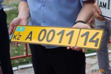 Владельцам автомобилей, приобретенных в Армении, в павлодарском спецЦОНе стали выдавать желтые номера