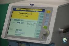 В реанимацию павлодарской горбольницы №3 привезли новый аппарат искусственной вентиляции легких