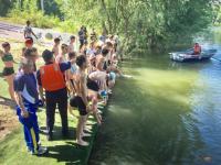 В Павлодаре провели первые соревнования по триатлону
