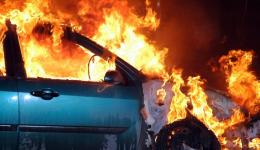 За минувшие сутки в Прииртышье сгорели четыре автомашины