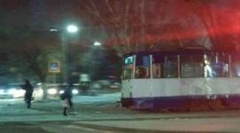 Не принимать резервный вагон за сошедший с рельсов попросили в трамвайном управлении Павлодара