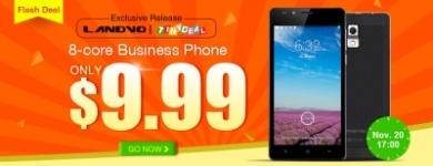 Выгодные покупки:8-ядерный смартфон Landvo l550 за 9.9$!!