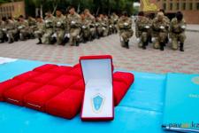 Показательное выступление с оружием продемонстрировали студенты ПГУ в честь окончания военной кафедры