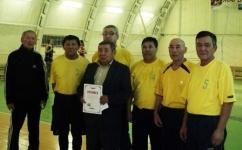 В Лебяжинском районе представители разных поколений приняли участие в соревнованиях по волейболу