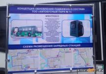 Электробусы появятся на улицах Павлодара в июле