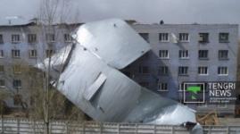 Ураган в Павлодарской области нанес ущерб на 47 миллионов тенге