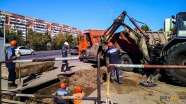 16 повреждений на сетях теплоснабжения произошли в Павлодаре в результате запуска отопления