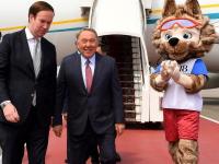 Нурсултан Назарбаев прибыл в Москву с рабочим визитом