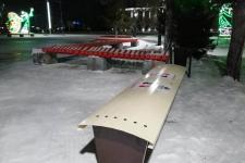 Теплую лавку установили в Павлодаре