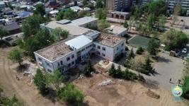 В Павлодаре здание трех организаций реконструируют под детский садик
