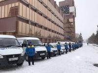 Необычный автофлешмоб организовали сотрудники павлодарского филиала АО «Казпочта»