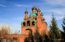 Благоустройство парковой территории Благовещенского собора в Павлодаре отложили на неопределенное время