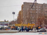 """ТОО """"Павлодар-Водоканал"""" проводит капремонт сети на одной из центральных улиц города"""