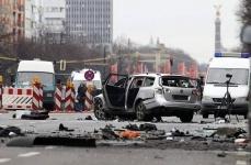 Наркоделец подорвался в начиненном взрывчаткой автомобиле в столице Германии (фото)