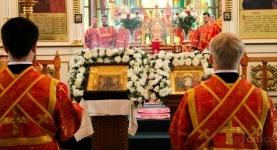 В Павлодаре прошло праздничное богослужение по прибытию чудотворной иконы